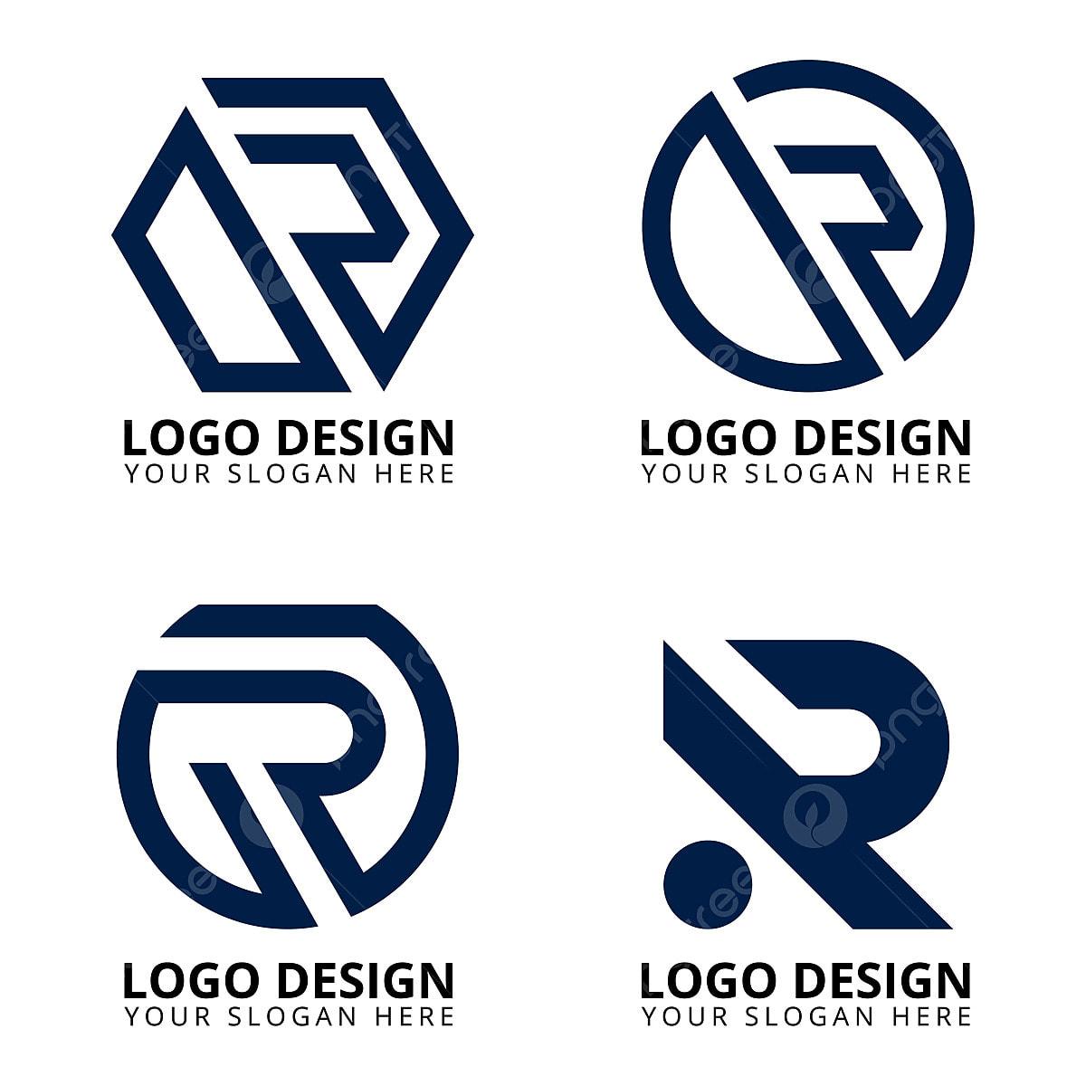 Letter R Modern Logo Design Collection Template Download On Pngtree