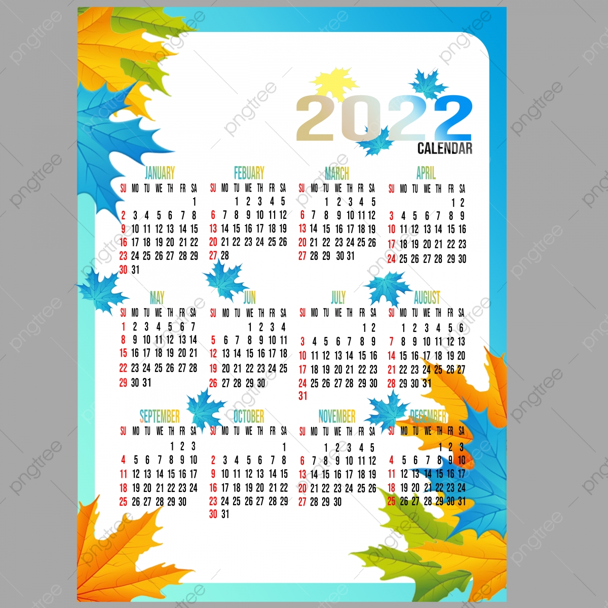 Psd Calendar 2022.Calendar 2022 Png Images Vector And Psd Files Free Download On Pngtree