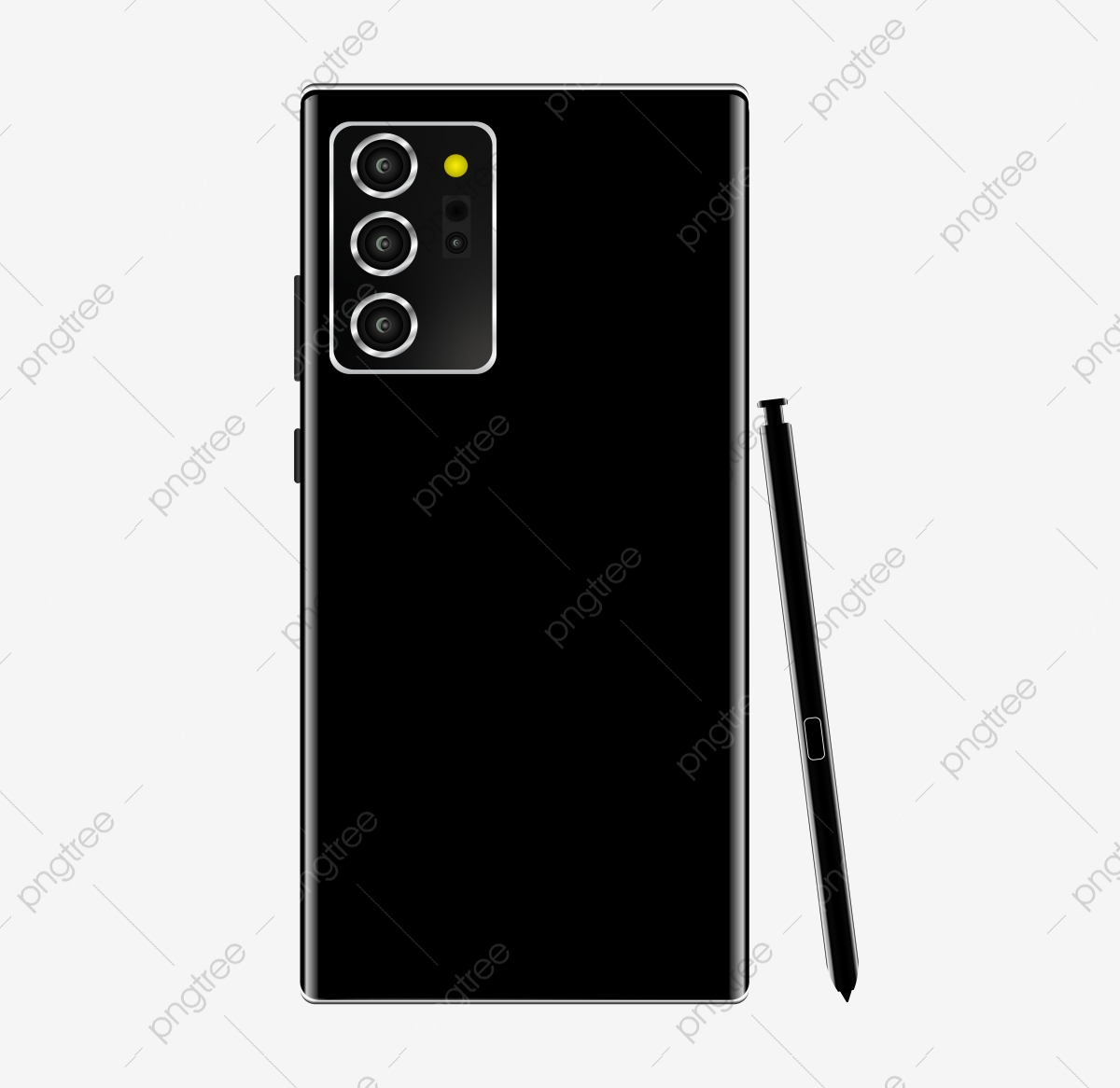 Back View Samsung Galaxy Note 20 Mockup Screen Mobile Mockup Png And Vector With Transparent Background For Free Download