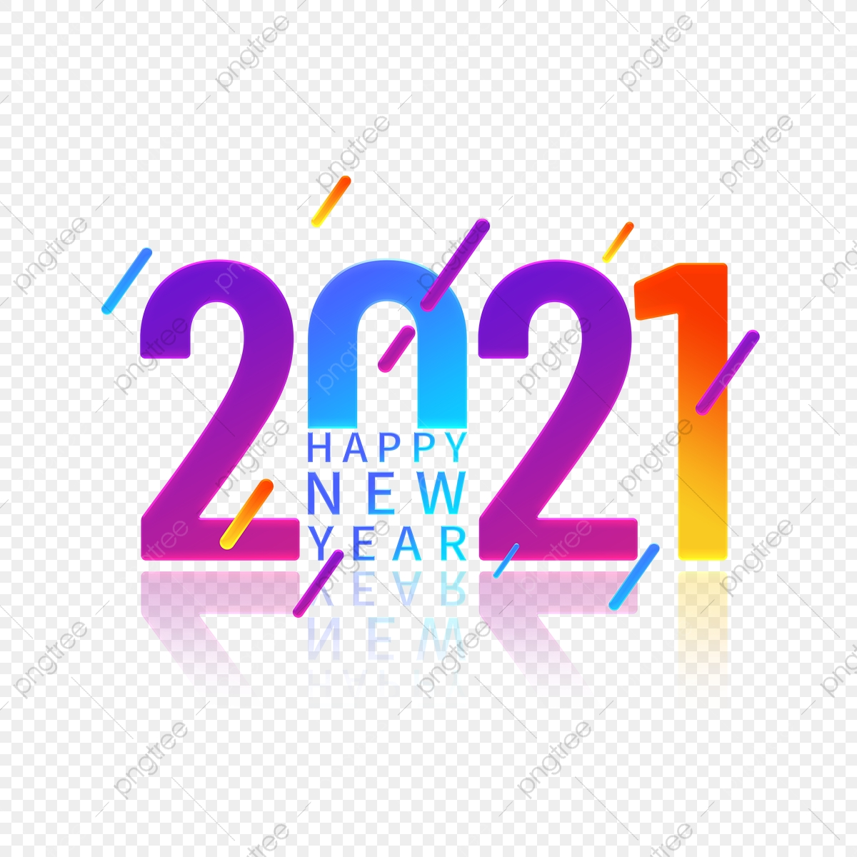 happy new year font png images vector and psd files free download on pngtree https pngtree com freepng colorful gradient 2021 happy new year font design element 5487471 html