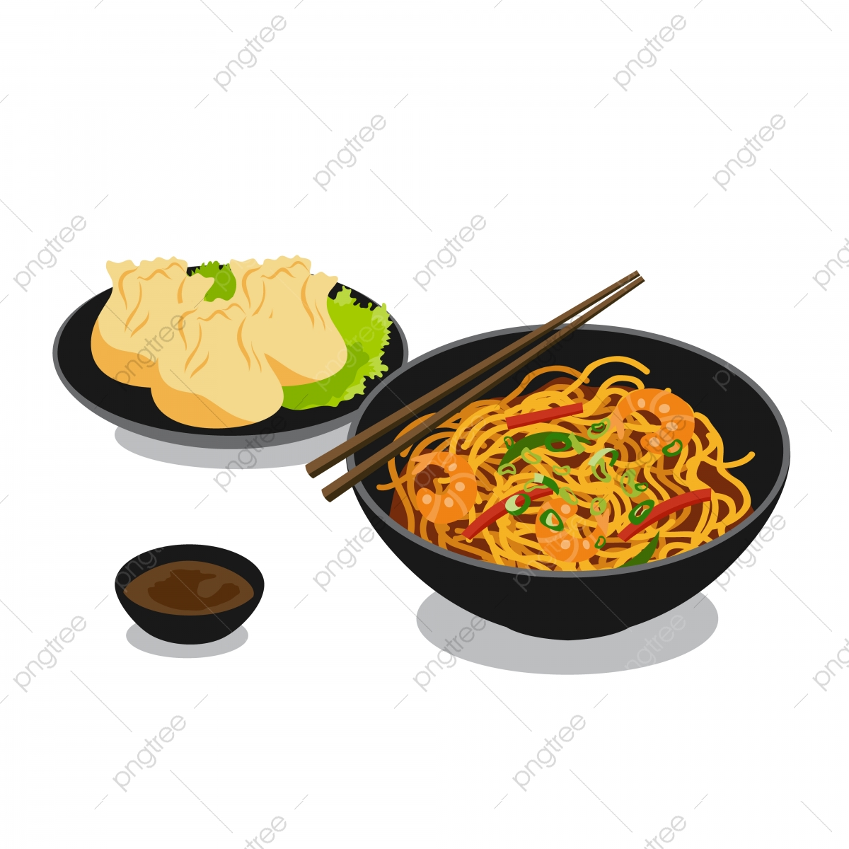 dimsum png vector psd and clipart with transparent background for free download pngtree https pngtree com freepng cuisine food noodle and dimsum illustration 5495749 html