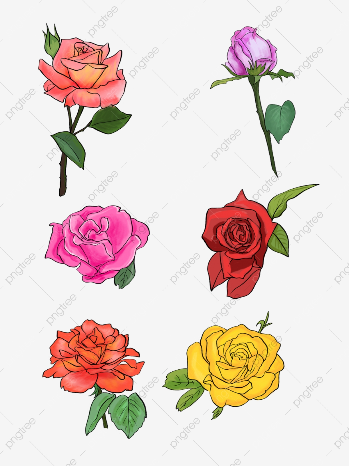 Reka Bentuk Corak Hiasan Bunga Mawar