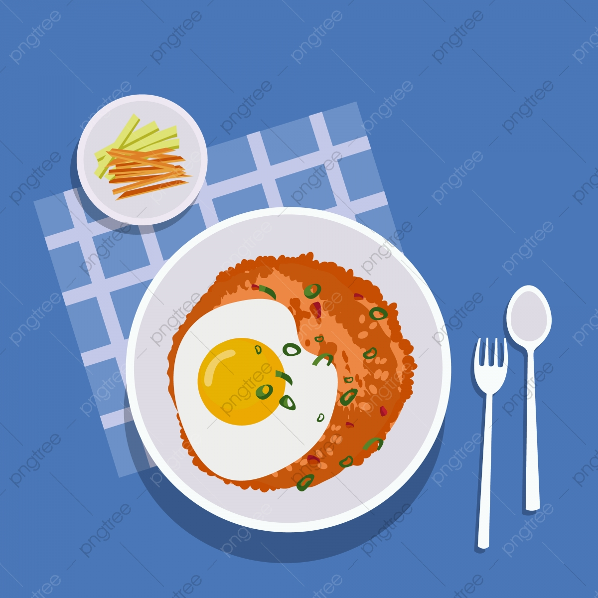 nasi kerabu png vector psd and clipart with transparent background for free download pngtree https pngtree com freepng nasi goreng indonesian food illustration 5495760 html