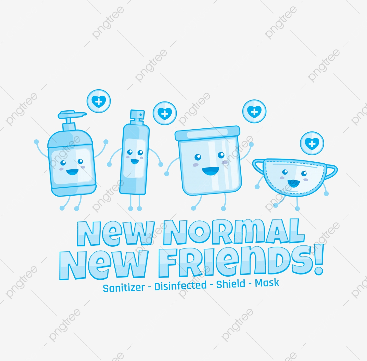 New Healthy Kit New Normal Kit Healthy Kit Png And Vector With Transparent Background For Free Download