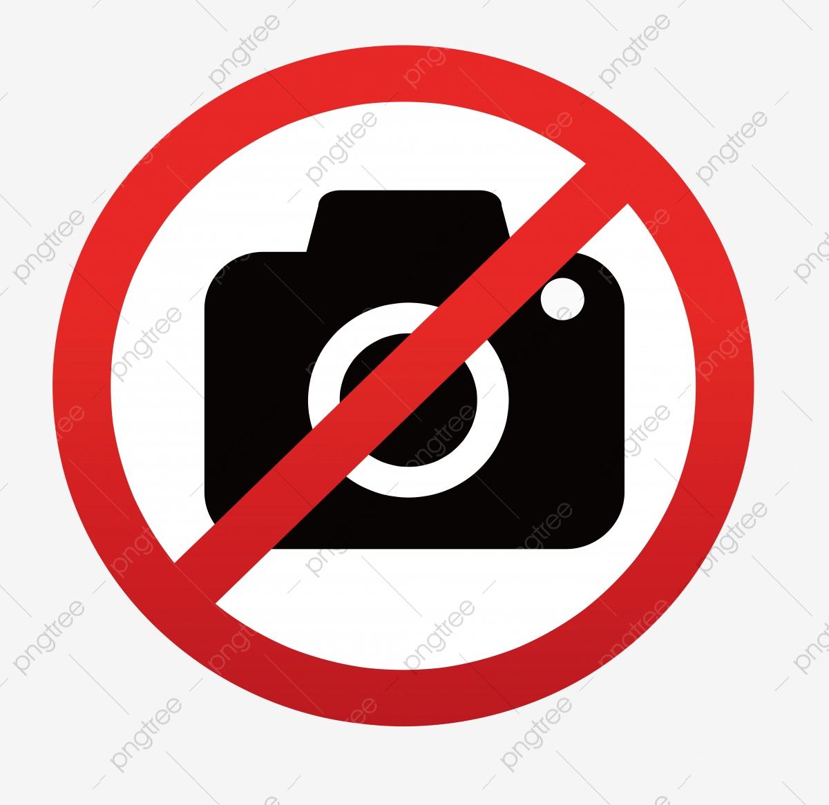ممنوع اصطحاب جوالات الكاميرا Png