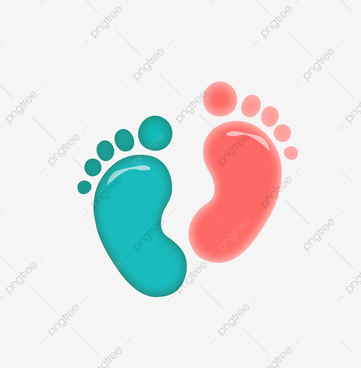 vector illustration colorful little feet vector illustration footprint color png and vector with transparent background for free download https pngtree com freepng vector illustration colorful little feet 5469629 html