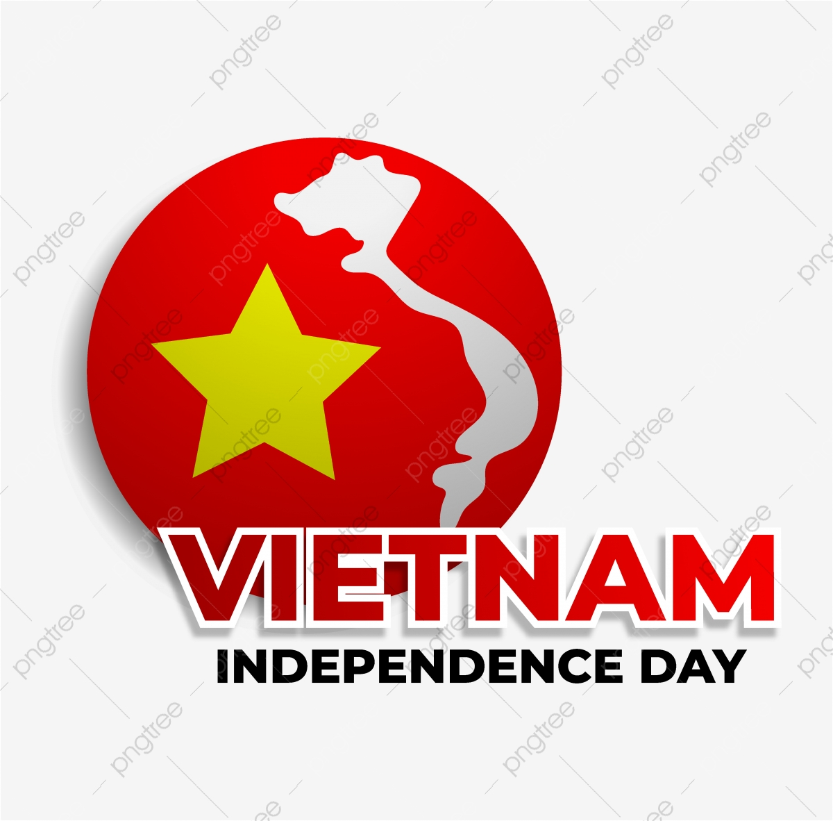 Vietnam Independence Day Design With Rounded Flags And Maps Vietnam Country Independence Png And Vector With Transparent Background For Free Download