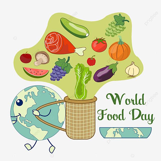 Makanan Hari Pangan Sedunia Bumi Keranjang Kembali Sawi Putih Png Transparan Gambar Clipart Dan File Psd Untuk Unduh Gratis