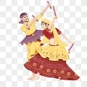 Image result for dandiya clipart black and white   Diwali drawing, Dancing  drawings, Dance paintings