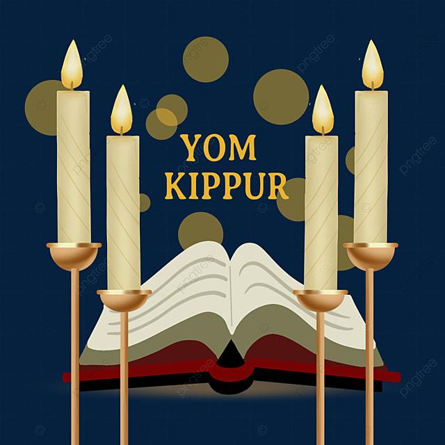yom kippur book candle element