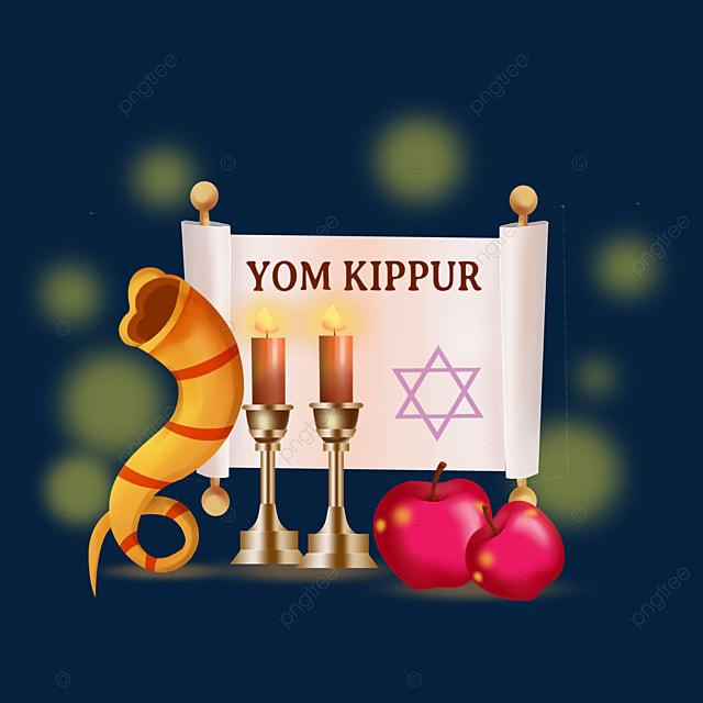 yom kippur festival celebration candle