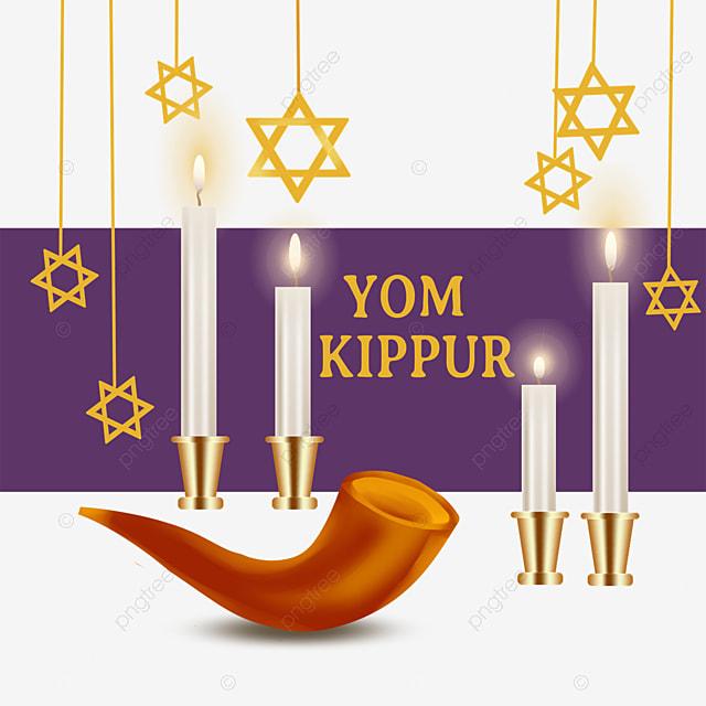 yom kippur golden pendant pipe element