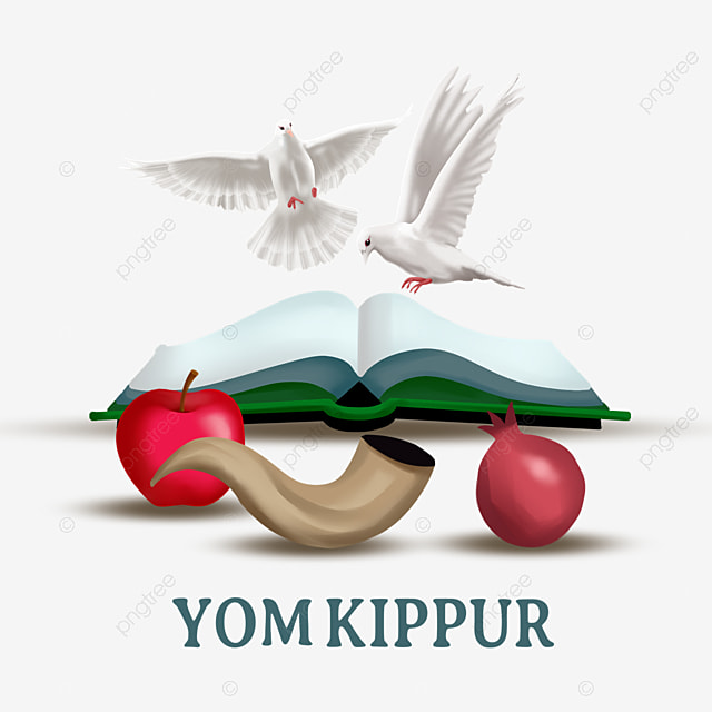 yom kippur hand painted white dove book