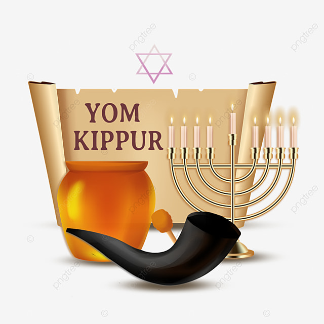 yom kippur paper scroll element