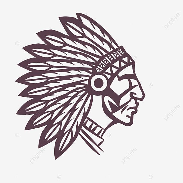 american indian aboriginal hand drawn avatar creative