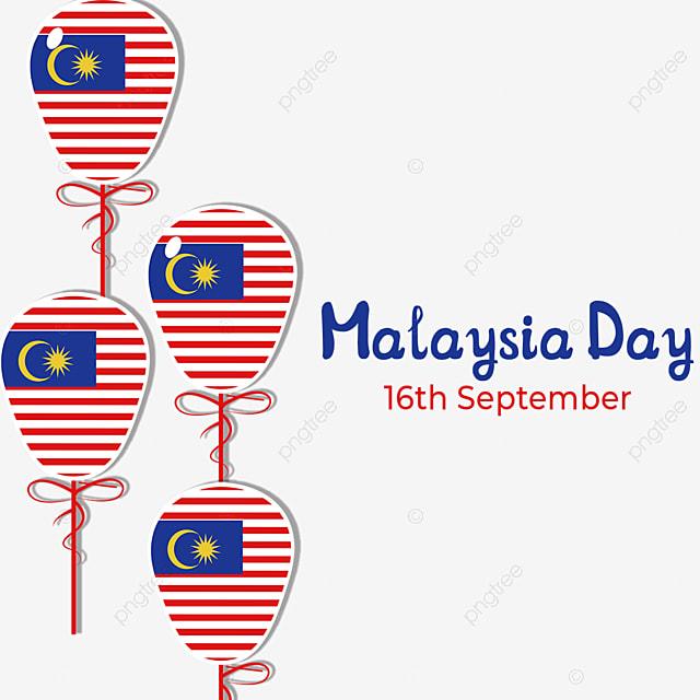 balloon element malaysia day
