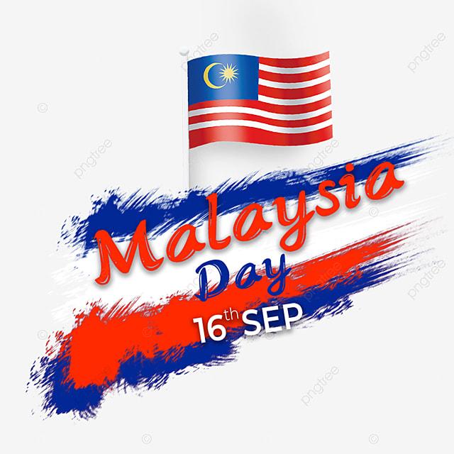 brush flag element malaysia day