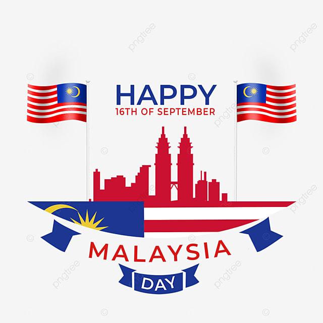 dual flag elements malaysia day