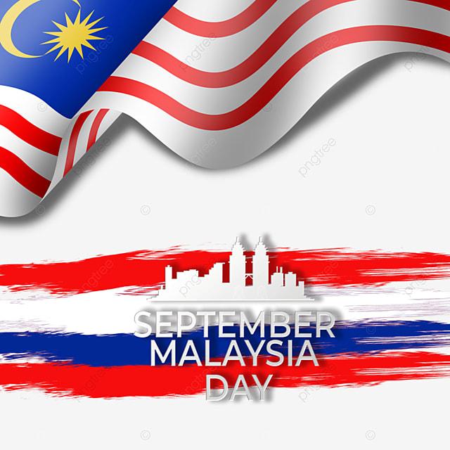 flag brush landmark elements malaysia day
