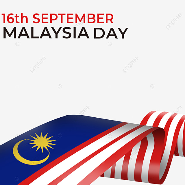 flag streamer element malaysia day