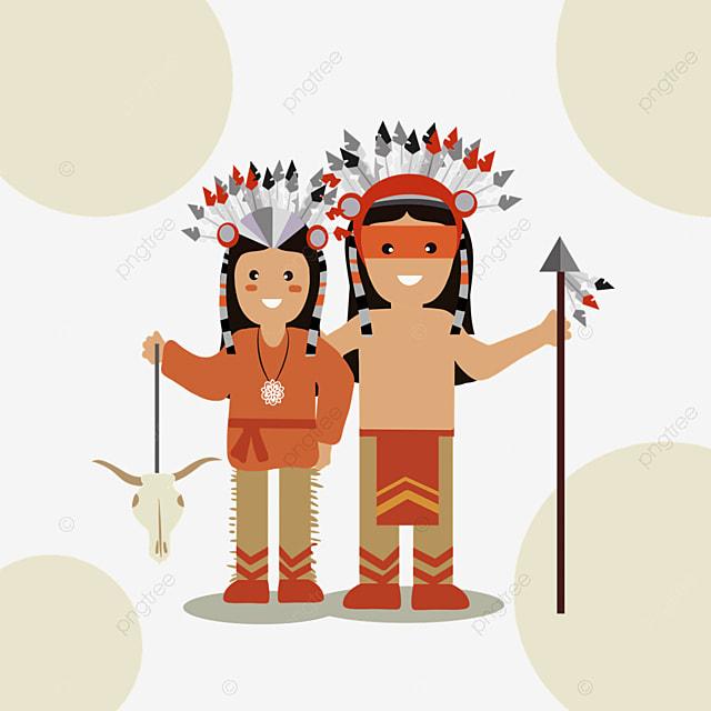 american indian hand drawn aboriginal characters creativity