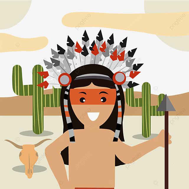 american indian hand drawn aboriginal creative illustration