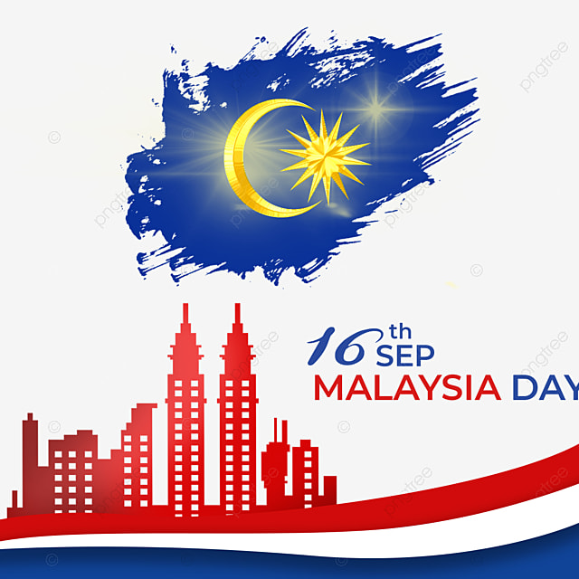 moon landmark element malaysia day