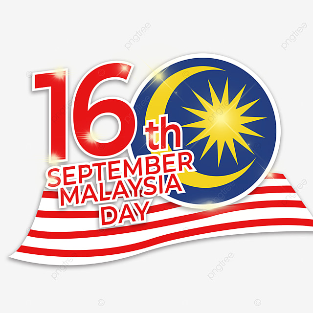national flag sign malaysia day element