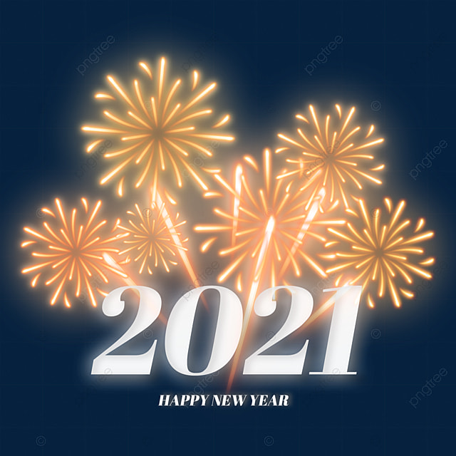 2021 New Years Golden Fireworks Bloom Golden Celebrate Fireworks Png Transparent Clipart Image And Psd File For Free Download