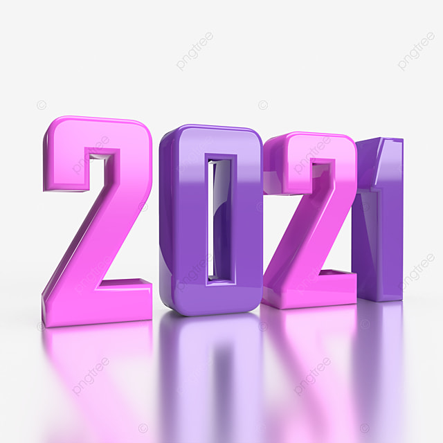 3d New Year 2021 On Transparent Background 3d Decorative Birthday Clipart Png Transparent Clipart Image And Psd File For Free Download