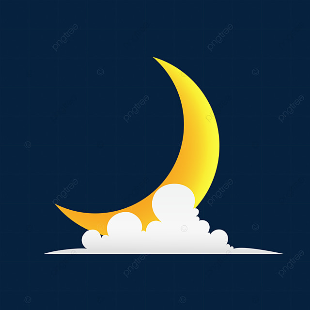 crescent moon and clouds vector illustration astrology astronomy background png transparent clipart image and psd file for free download https pngtree com freepng crescent moon and clouds vector illustration 5512731 html
