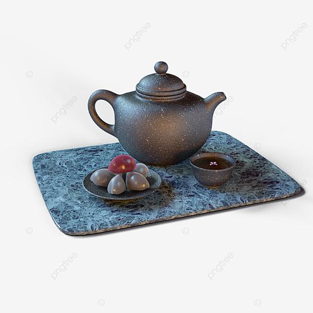 3d three dimensional teapot dessert three dimensional element