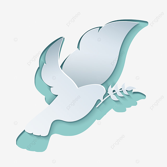 international day of peace abstract flat peace white dove