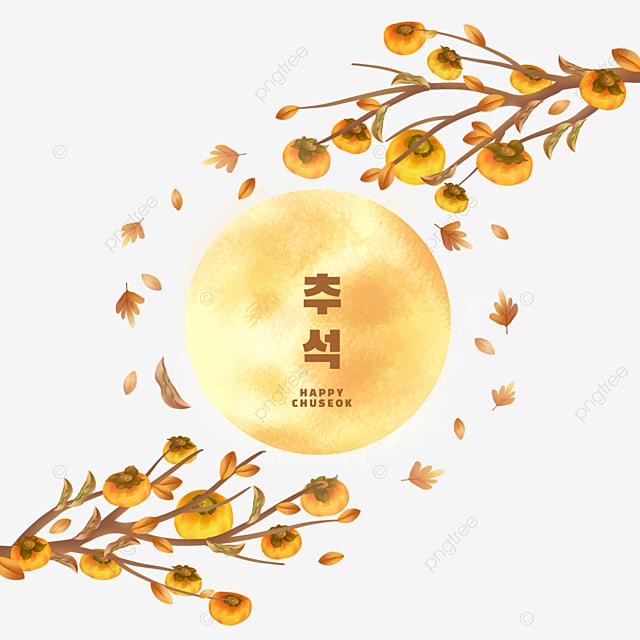 korean autumn eve yellow leaves