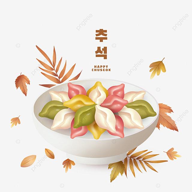 korean colorful rice cake