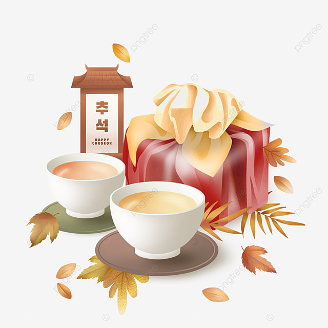 korean mid autumn festival and autumn eve gifts