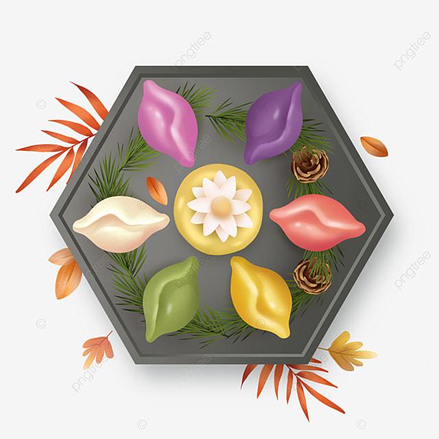 korean mid autumn festival rice cake