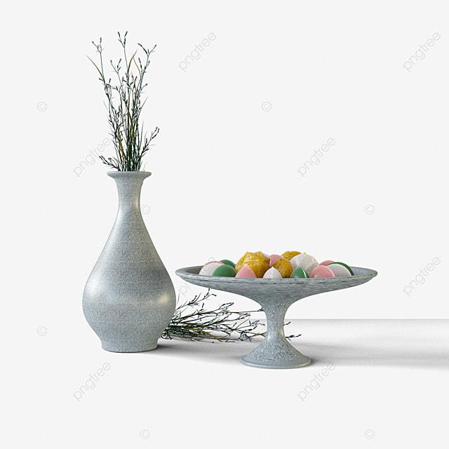 pastry flower arrangement 3d elements