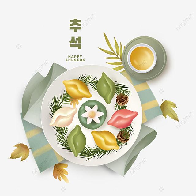 simple korean autumn eve decoration