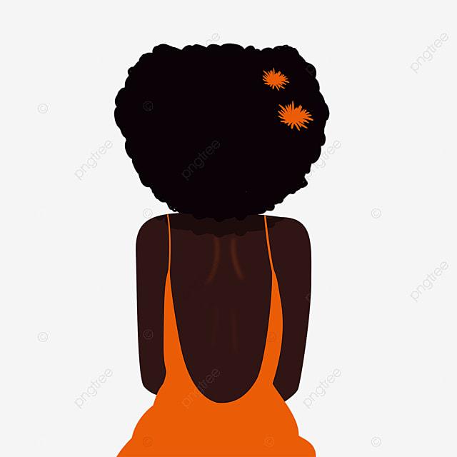 color black women illustration elements