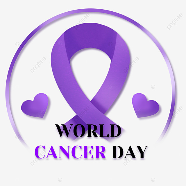 world cancer day medical ribbon