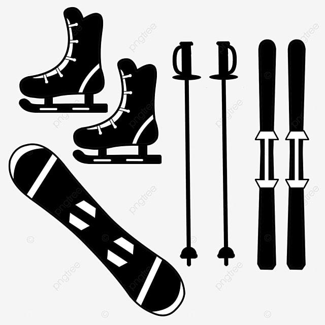 hand painted flat black ski boots