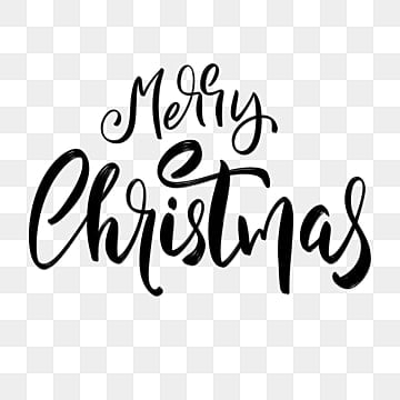 Merry Christmas Font Png Images Vector And Psd Files Free Download On Pngtree