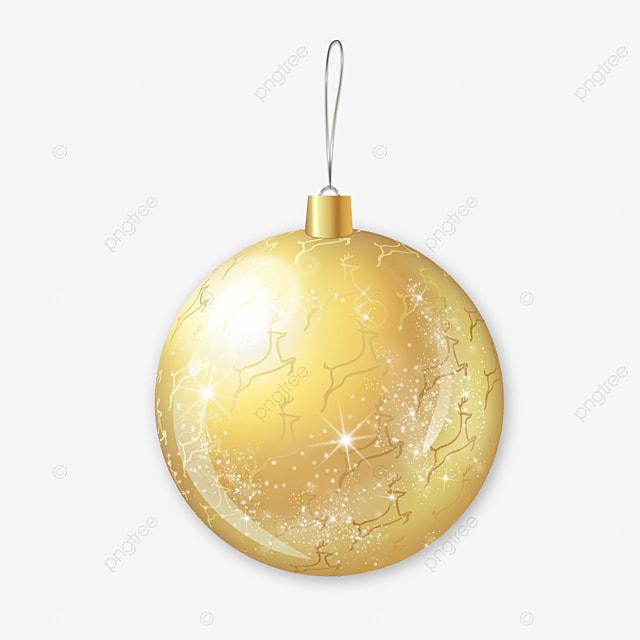 Bola De Navidad Dorada Adorno De Navidad Clipart Espumoso Brillar Png Y Psd Para Descargar Gratis Pngtree