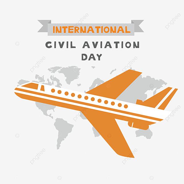 banner to celebrate international civil aviation day