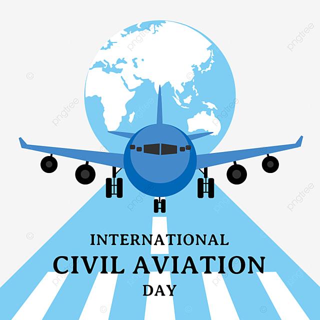 blue international civil aviation day