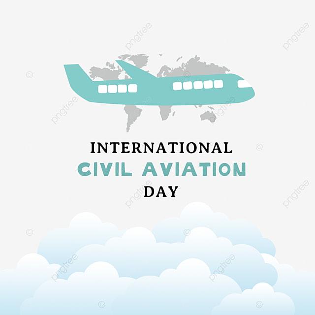 green hand painted international civil aviation day