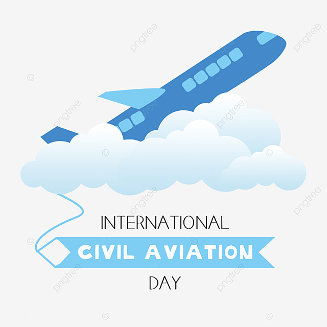 hand drawn to celebrate international civil aviation day