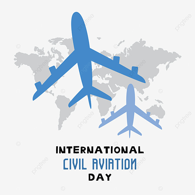 hand painted international civil aviation day