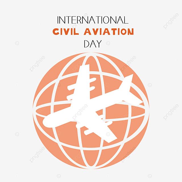 orange simple international civil aviation day